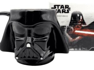 Caneca Star Wars 3D Darth Vader Zona Criativa Disney Oficial - Divulgação - Divulgação