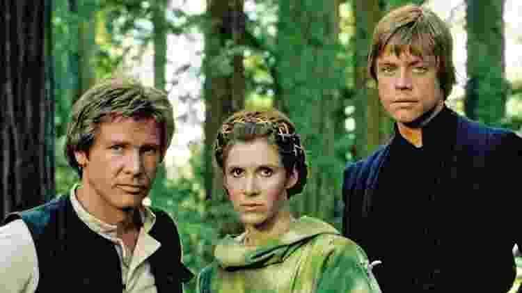 trio star wars - divulgação/Lucasfilm/Disney - divulgação/Lucasfilm/Disney