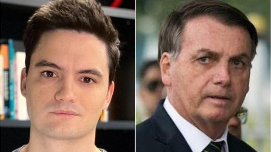 """Felipe Neto afirma que há um """"enfraquecimento digital"""" do governo Bolsonaro - Reprodução/Instagram"""