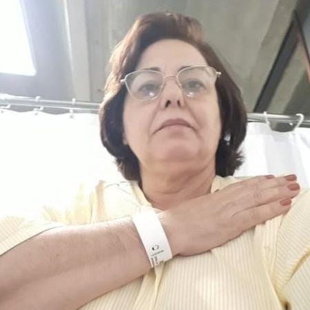 Sandra Santos no Hospital Rede Sarah em Brasília - Arquivo pessoal