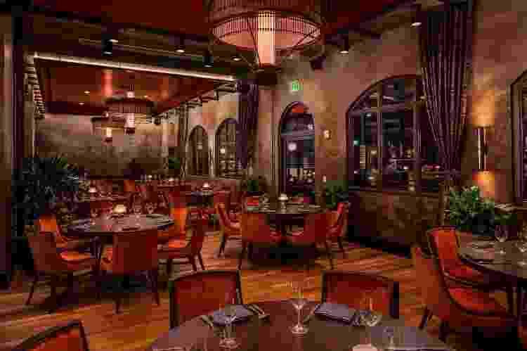 Bar e restaurante Justin Timberlake em Nashville (4) - Reprodução/Architectural Digest - Reprodução/Architectural Digest