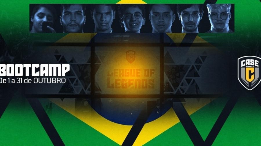 Bootcamp de League of Legends da Case eSports - Divulgação/Case eSports