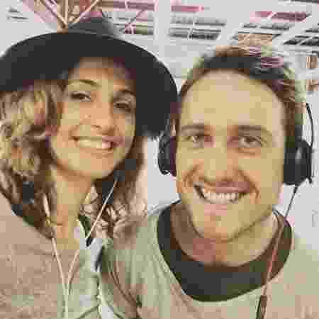 Camila Pitanga e Igor Angelkort moravam juntos na casa da atriz no Jardim Botânico, no Rio - Reprodução/Instagram/igorangelkort