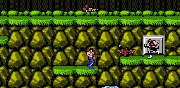 Screenshot do Contra