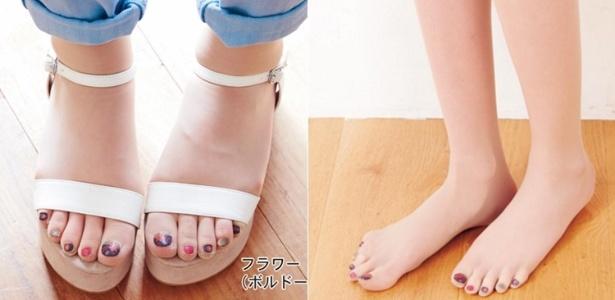 Meia-calça com unhas pintadas? O Japão já criou - Divulgação