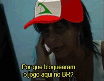 04.ago.2016 - Meme criado com cena de Gretchen para o jogo Pokémon Go