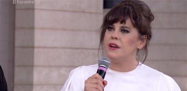 """Bárbara Paz participa do """"Encontro"""" e diz que procurou ajuda para lidar com o luto - Reprodução/TV Globo"""