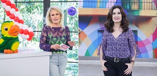 Ana Maria e Fátima Bernardes comandam as manhãs da Globo - Paulo Belote/TV Globo/Ellen Soares/Gshow/Montagem UOL