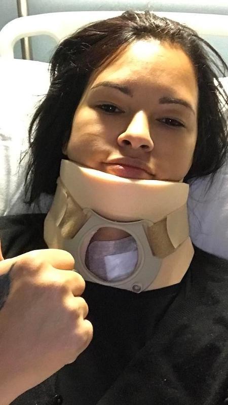 Ariadna Arantes precisou passar por uma cirurgia - Reprodução/Instagram