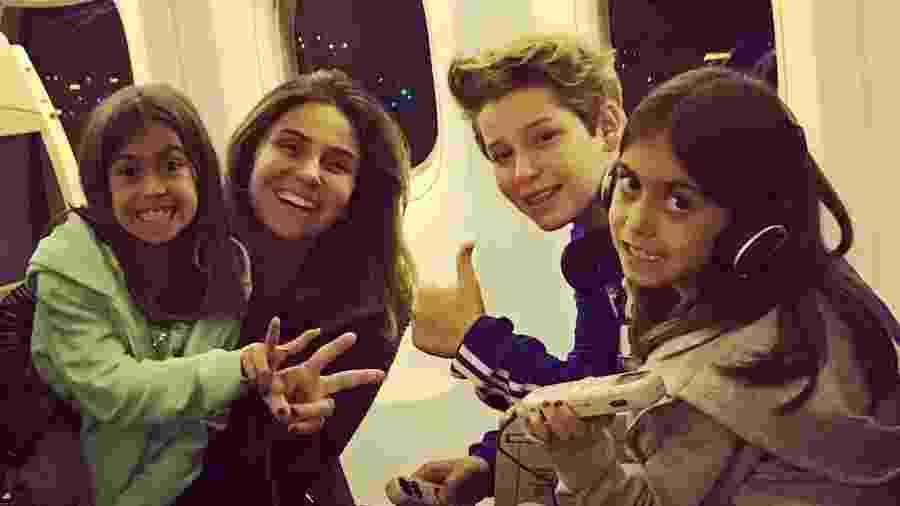 Giovanna Antonelli viaja com os filhos - Reprodução/Instagram