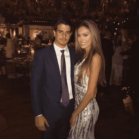 Enzo Celulari e Victória Grendene - Reprodução/Instagram/enzocelulari