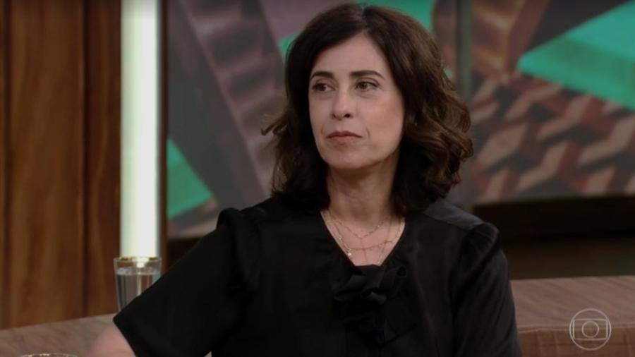 """Fernanda Torres no """"Conversa com Bial"""" - Reprodução/Globo"""