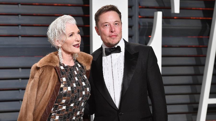 Maye e Elon Musk - Getty Images