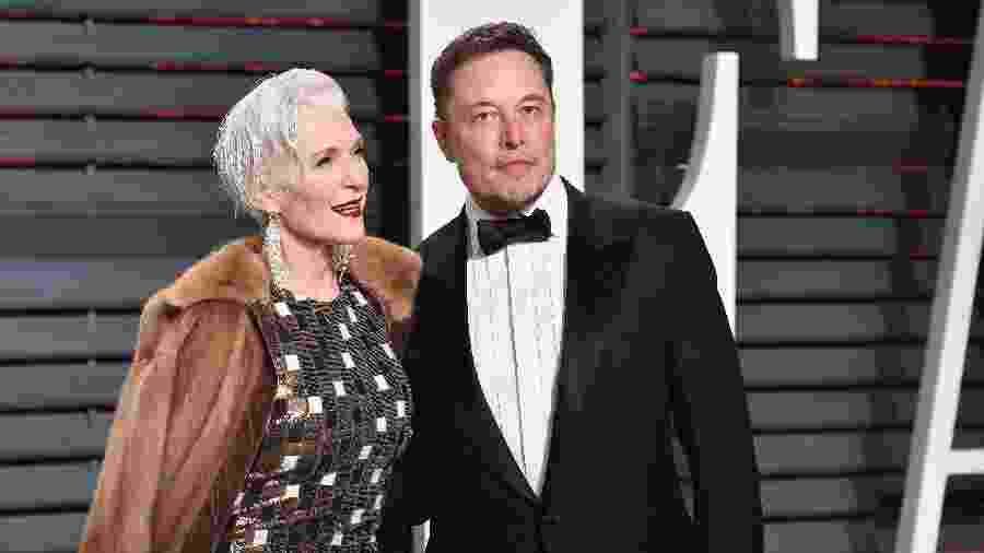 Maye e Elon Musk - Getty Images