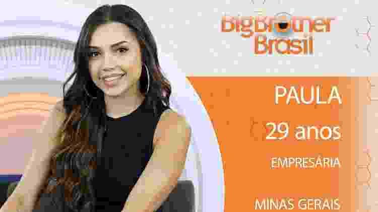 Paula do BBB18 - Divulgação/TV Globo - Divulgação/TV Globo