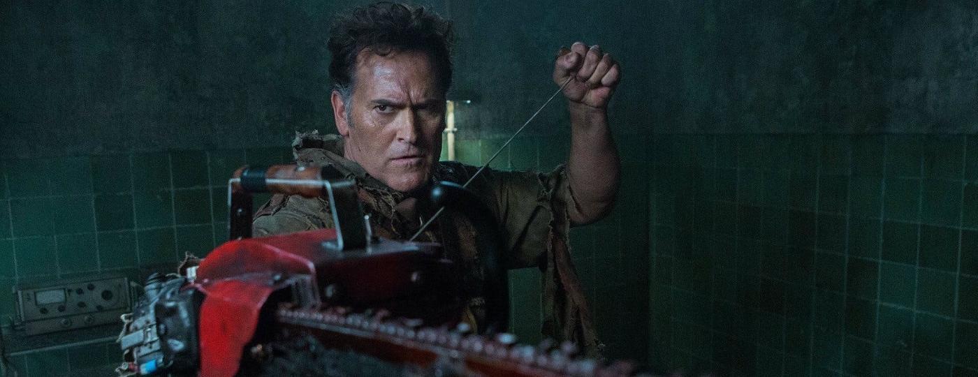 O ator Bruce Campbell está pronto para aposentar a motosserra - Divulgação