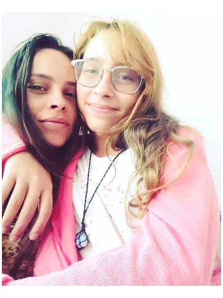 Gisele Frade com a filha mais velha, Lolita - Reprodução/Instagram