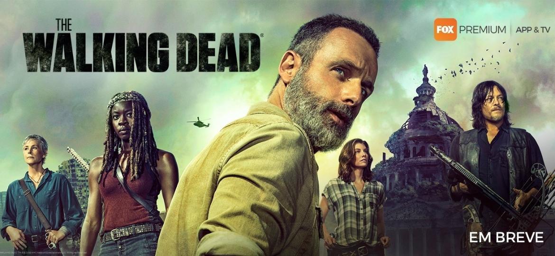 """Imagem promocional da nona temporada de """"Walking Dead"""" - Divulgação"""