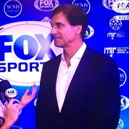 """Victor Fasano diz que foi o """"Mick Jagger"""" brasileiro na Copa do Mundo da Rússia - Reprodução/Fox Sports"""