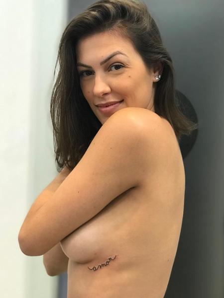 """Rachel Drodowsky fez sua primeira tatuagem após ser demitida do """"Domingão do Faustão"""" - Reprodução/Instagram"""