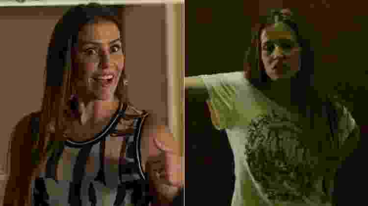 Karola e Bruna Surfistinha - Montagem/UOL/Reprodução/TV Globo/YouTube - Montagem/UOL/Reprodução/TV Globo/YouTube