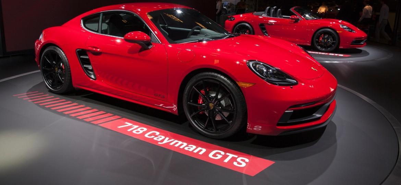 Porsche 718 Cayman GTS e Boxster GTS  - Troy Harvey/Bloomberg