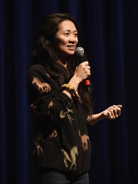 A cineasta Chloé Zhao  - Amanda Edwards/Getty Images
