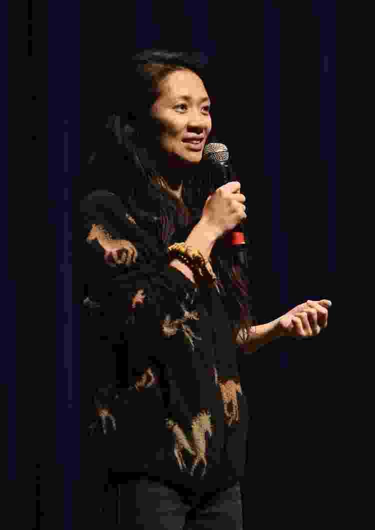 A cineasta Chloé Zhao  - Amanda Edwards/Getty Images - Amanda Edwards/Getty Images