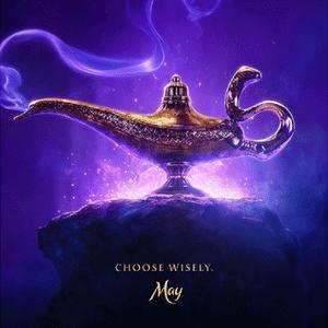 """Pôster do novo """"Aladdin"""""""