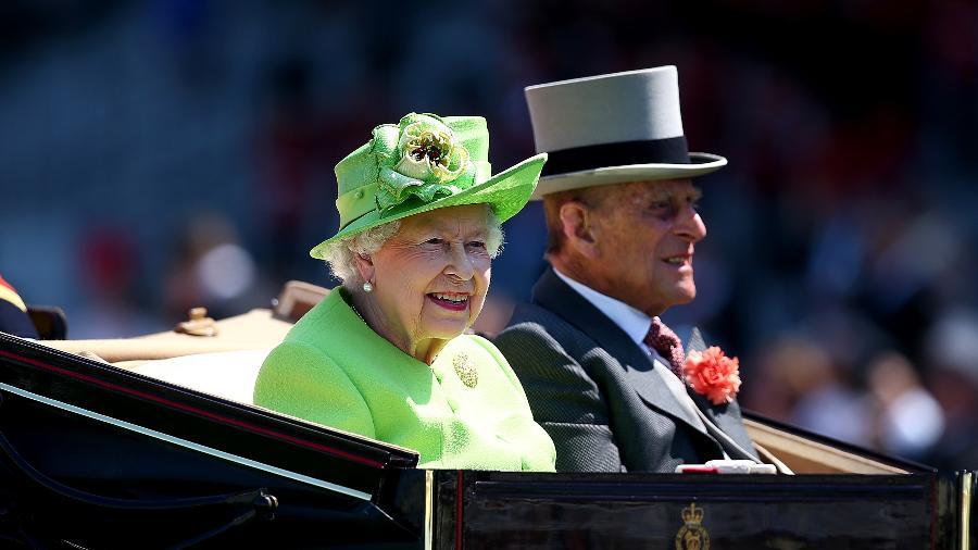 Rainha Elizabeth e seu marido, o príncipe Philip - Getty Images
