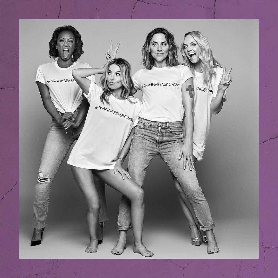 c2231e4dd Spice Girls lançam linha de roupas exclusiva em prol de igualdade de gênero  - 11 11 2018 - UOL Universa