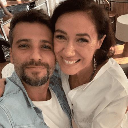 Bruno Gagliasso e Lilia Cabral - Reprodução/Instagram