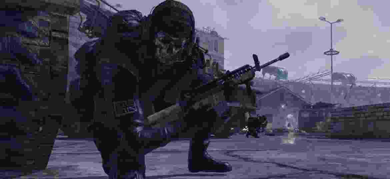 """Simon """"Ghost"""" Riley, um dos personagens mais populares de """"Call of Duty: Modern Warfare 2"""" - Reprodução"""
