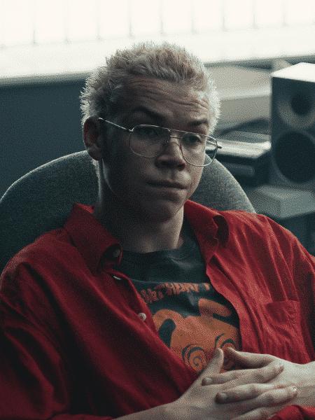 """Will Poulter como Colin Ritman em """"Black Mirror: Bandersnatch"""" - Reprodução"""