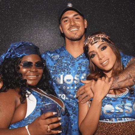 Jojo Todynho, Gabriel Medina e Anitta em festa - Reprodução/Instagram