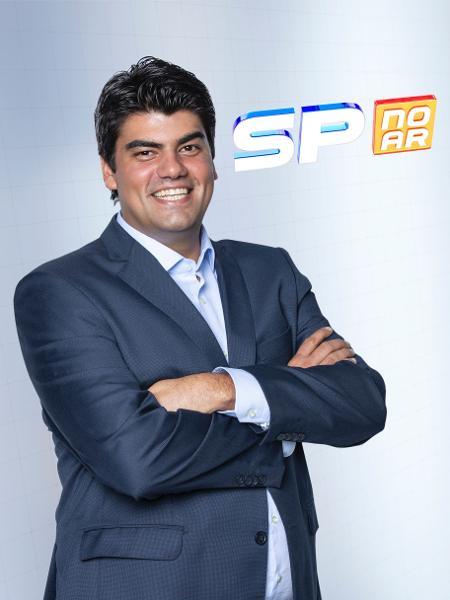 André Azeredo, afatasdo do jornal das manhãs da Record, deve voltar como repórter  - Edu Moraes/ Record TV