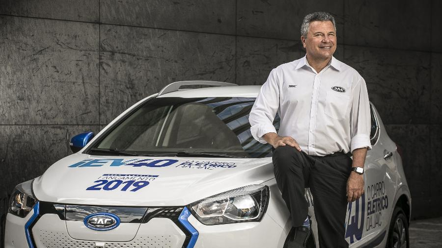 Sergio Habib é o presidente da Jac Motors Brasil - Keiny Andrade/UOL