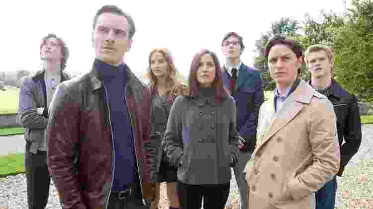 """Os mutantes em """"X-Men: Primeira Classe"""" (2011) - Divulgação/IMDb"""