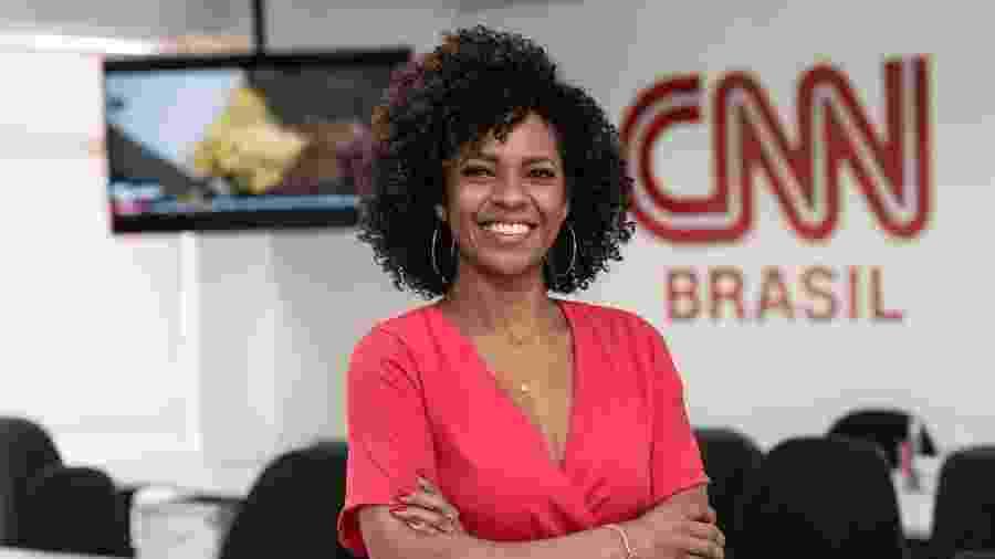 A jornalista e apresentadora Luciana Barreto, 42, a mais nova contratada da CNN Brasil - Divulgação/CNN Brasil