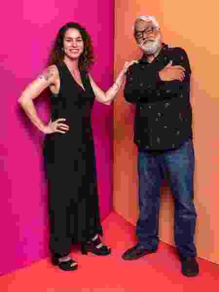 Rosane Svartman e Paulo Halm, autores de Bom Sucesso   - João Cotta/TV Globo