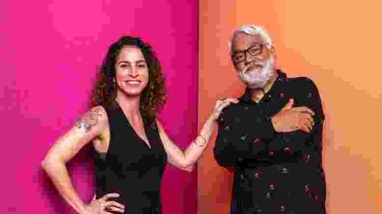 Rosane e Paulo - João Cotta/TV Globo - João Cotta/TV Globo
