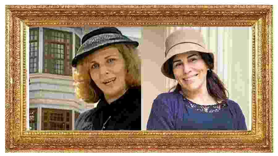 Irene Ravache interpretou Lola na versão de 1994, que será vivida por Gloria Pires - Reprodução/SBT/Globo/Raquel Cunha/Montagem UOL