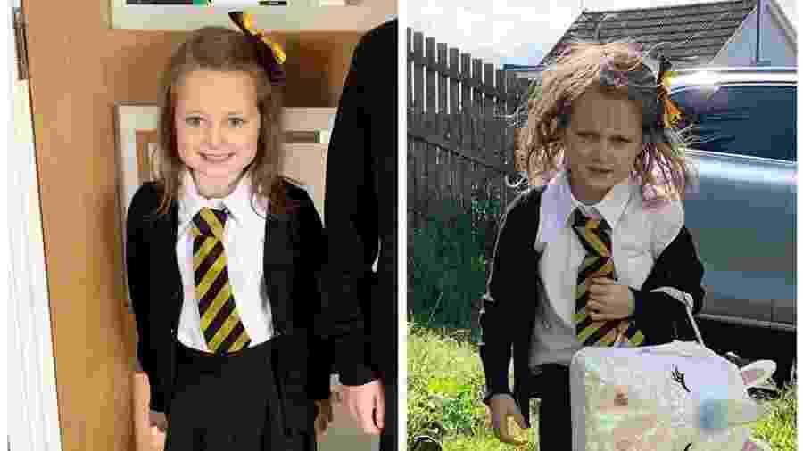 O antes e depois de Lucie - Reprodução/Facebook