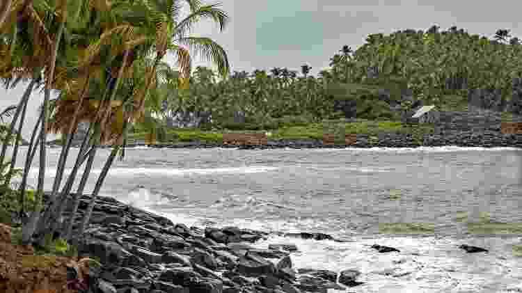 "O arquipélago da Ilha do Diabo, na Guiana Francesa, já foi chamado de ""inferno verde"" - BrantleyHighline/Getty Images/iStockphoto - BrantleyHighline/Getty Images/iStockphoto"