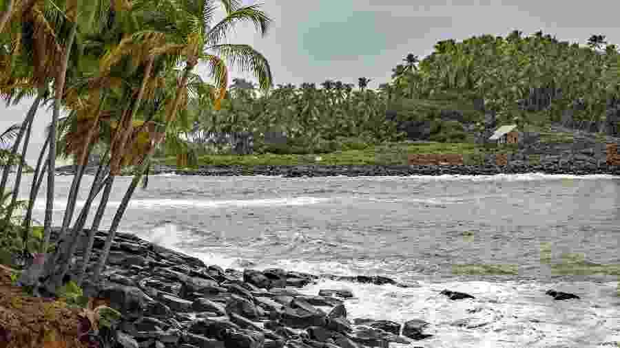 "O arquipélago da Ilha do Diabo, na Guiana Francesa, já foi chamado de ""inferno verde"" - BrantleyHighline/Getty Images/iStockphoto"