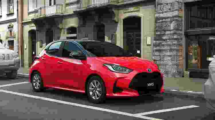 Novo Toyota Yaris - Divulgação - Divulgação