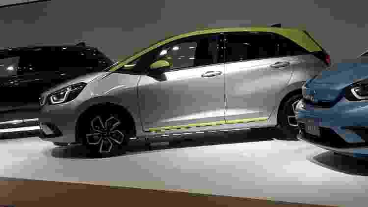 Quarta geração traz carroceria mais limpa, porém mantendo a identidade do Fit original - Vitor Matsubara/UOL