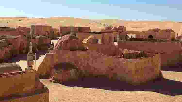 O deserto foi onde filmaram as cenas da juventude dos Skywalker - Divulgação/dunes-electroniques - Divulgação/dunes-electroniques