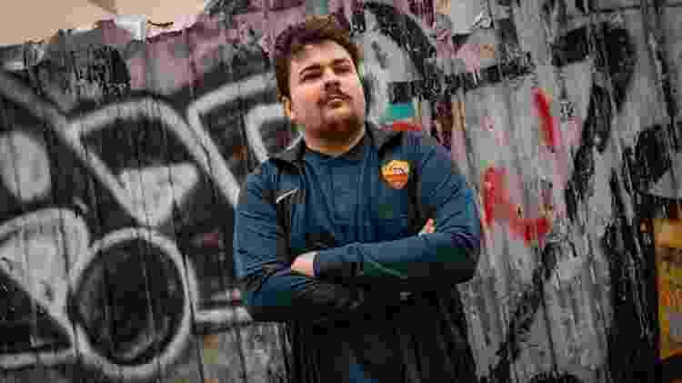 Gaúcho joga na Associazione Sportiva Roma, tradicional clube italiano. - Divulgação/Associazione Sportiva Roma
