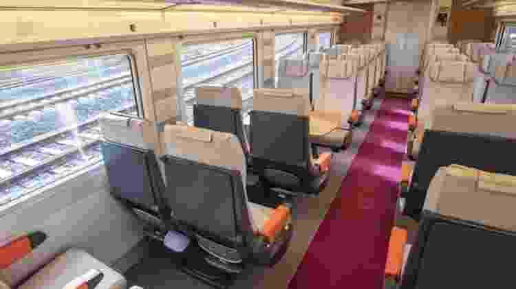 Trem-bala Avlo pode transportar mais de 400 passageiros - Reprodução/Instagram @renfe - Reprodução/Instagram @renfe
